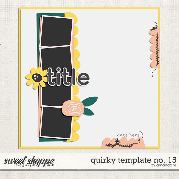 Quirky template no. 15 by Amanda Yi