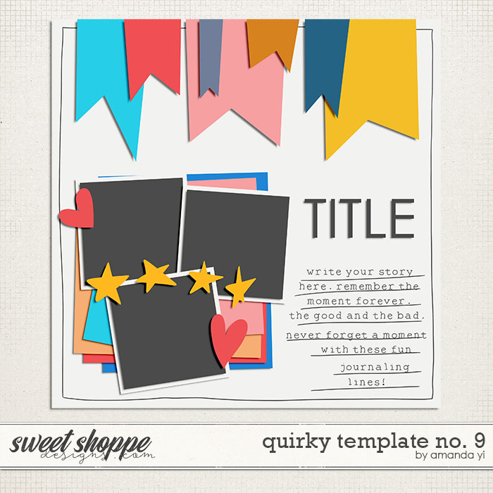 Quirky template no. 9 by Amanda Yi
