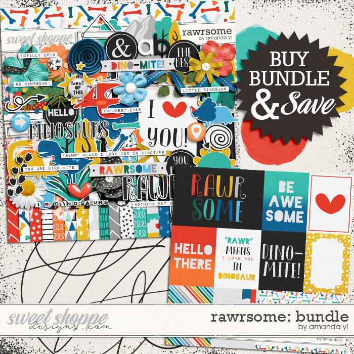 Rawrsome: Bundle by Amanda Yi