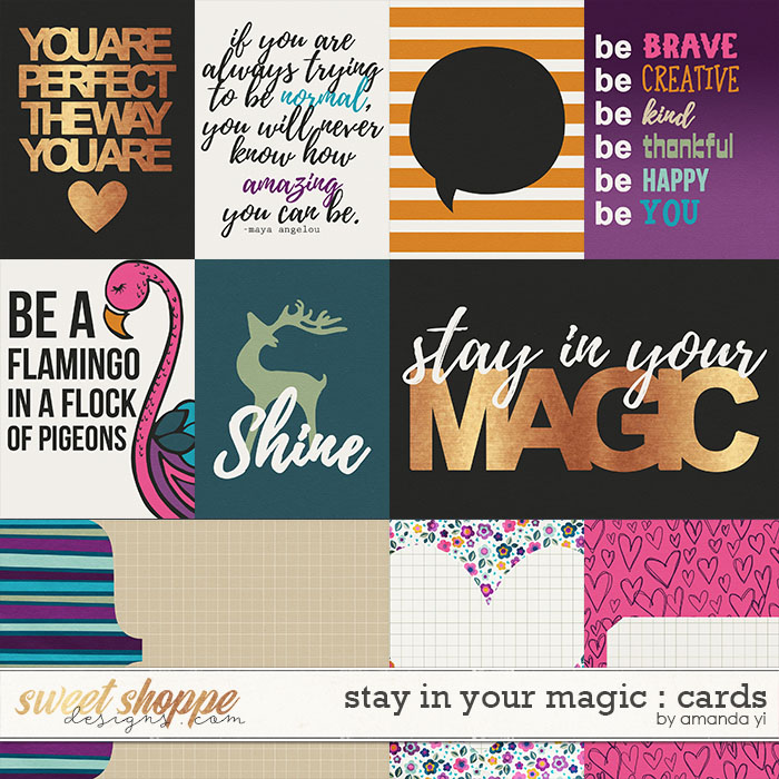 Stay In Your Magic : Cards by Amanda Yi