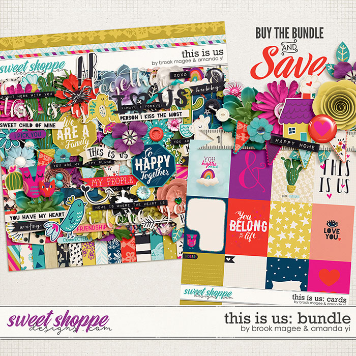 This Is Us bundle by Brook Magee & Amanda Yi