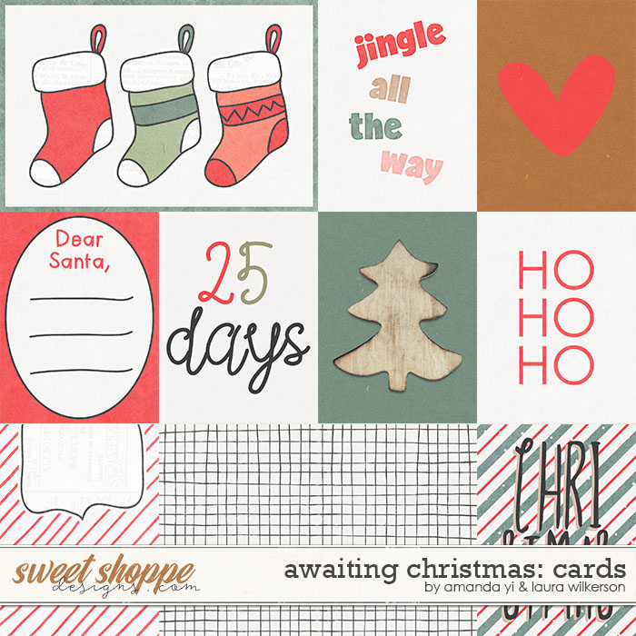 Awaiting Christmas Cards by Amanda Yi and Laura Wilkerson
