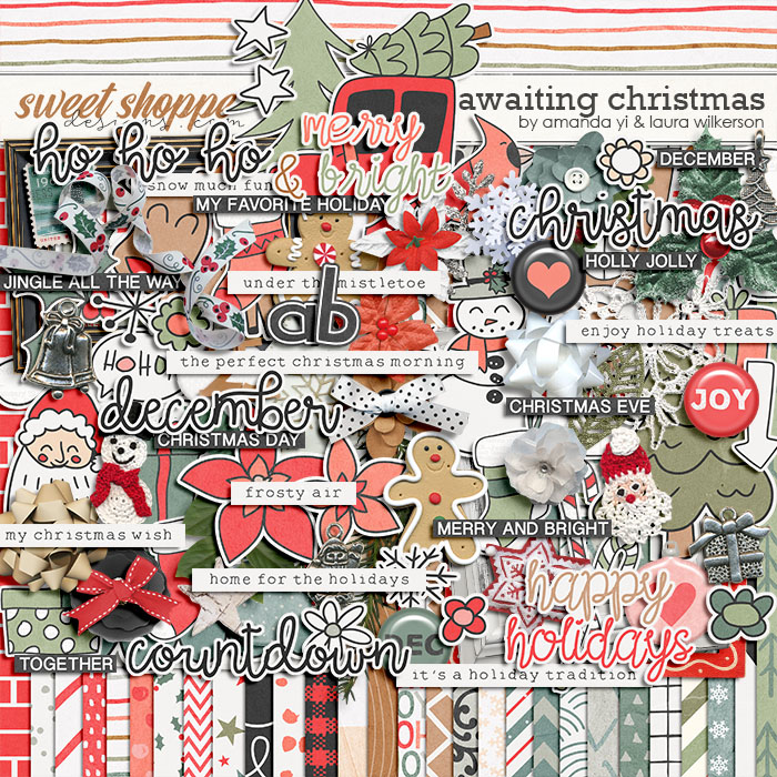 Awaiting Christmas by Amanda Yi and Laura Wilkerson