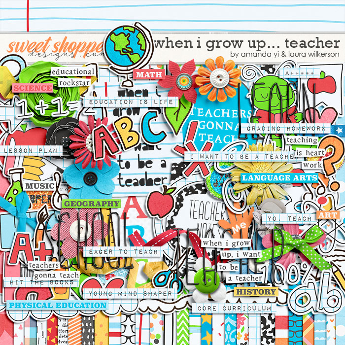 When I Grow Up...Teacher by Amanda Yi and Laura Wilkerson