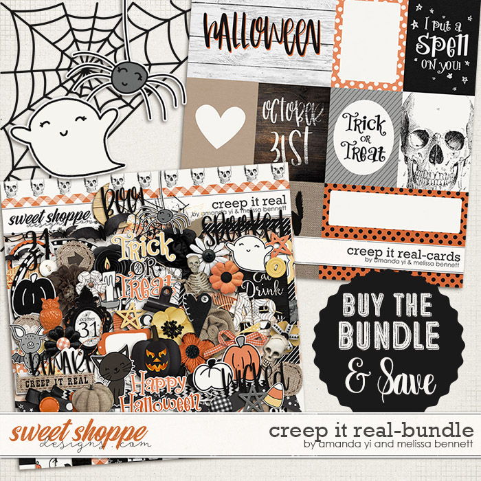 Creep it Real Bundle by Amanda Yi & Melissa Bennett