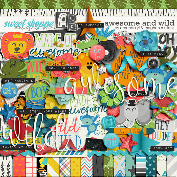 Awesome & Wild by Amanda Yi Designs & Meghan Mullens