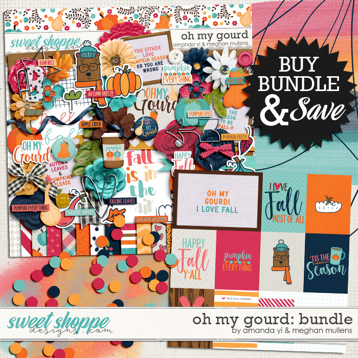 Oh My Gourd-Bundle by Amanda Yi Design & Meghan Mullens