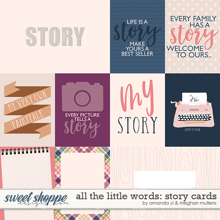 All The Little Words-Story Project Cards by Amanda Yi and Meghan Mullens