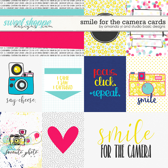 Smile For The Camera: Cards by Amanda Yi & Studio Basic Designs