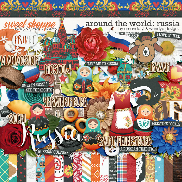 Around the world: Russia by Amanda Yi & WendyP Designs