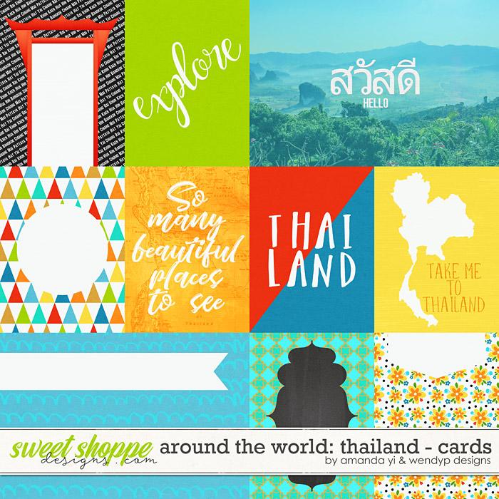 Around the world: Thailand - Cards by Amanda Yi & WendyP Designs