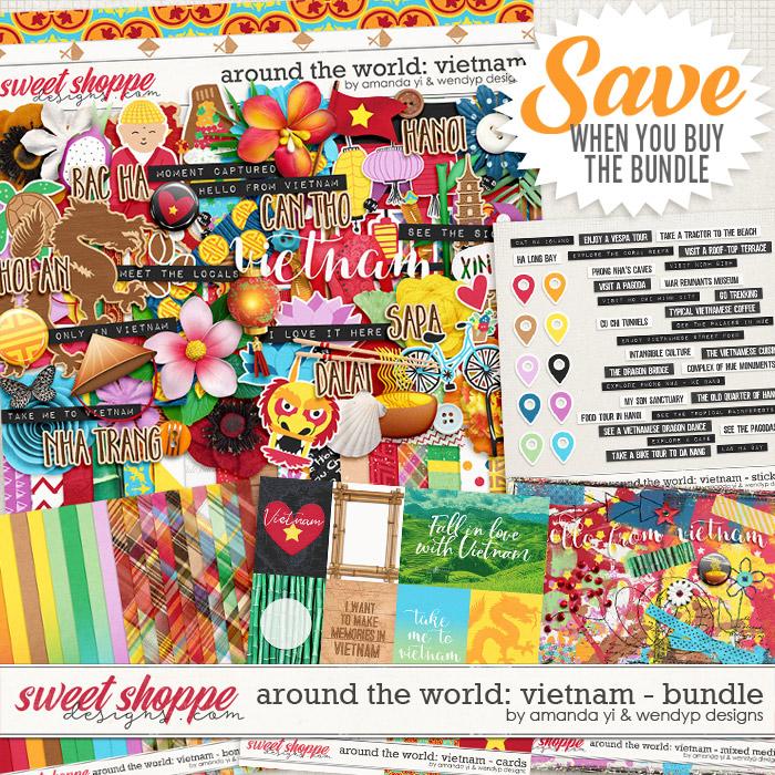Around the world: Vietnam - Bundle by Amanda Yi & WendyP Designs