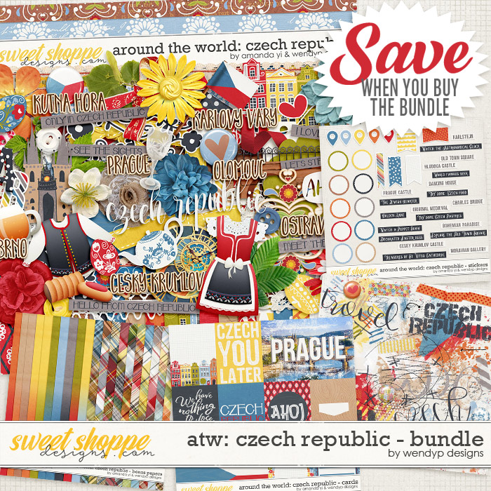 Around the world: Czech Republic - Bundle by Amanda Yi & WendyP Designs