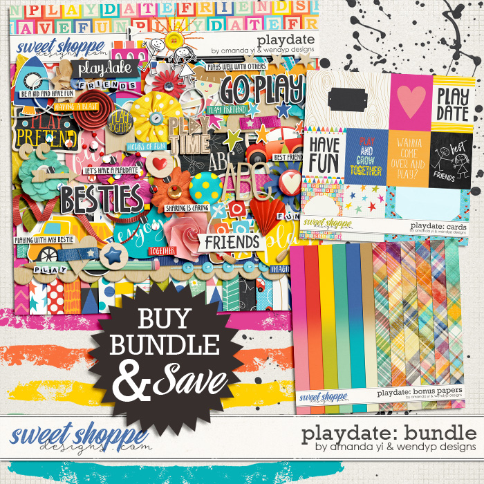 Playdate - bundle by Amanda Yi & WendyP Designs