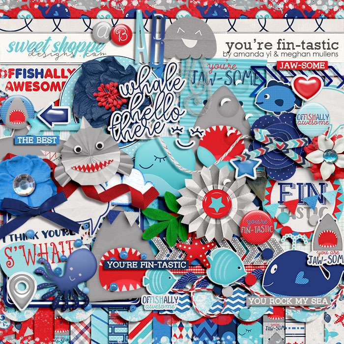 You're Fin-Tastic by Amanda Yi & Meghan Mullens