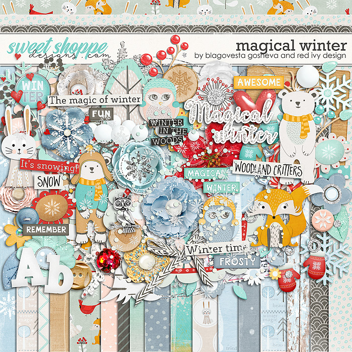 Magical Winter by Blagovesta Gosheva & Red Ivy Designs