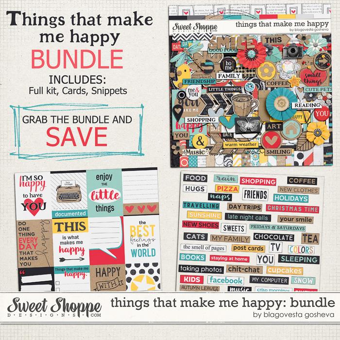 Things that make me happy: Bundle by Blagovesta Gosheva