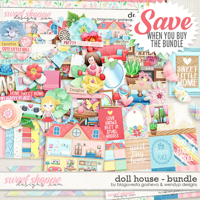 Doll House {bundle} by Blagovesta Gosheva & WendyP Designs