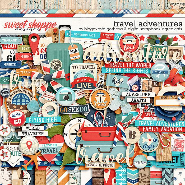 Travel Adventures by Blagovesta Gosheva & Digital Scrapbook Ingredients