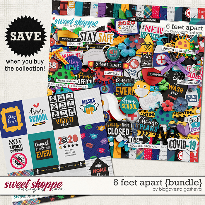 6 Feet Apart {bundle} by Blagovesta Gosheva