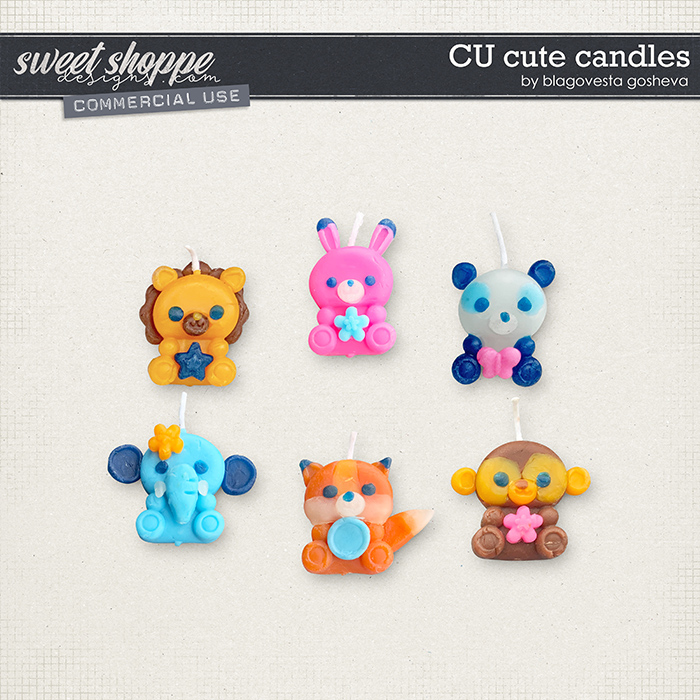 CU Cute Candles by Blagovesta Gosheva