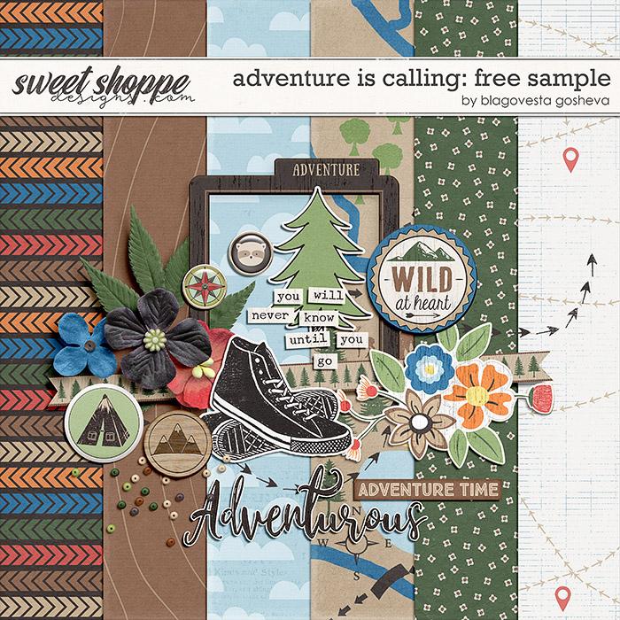 Adventure is calling {FREE sample} by Blagovesta Gosheva