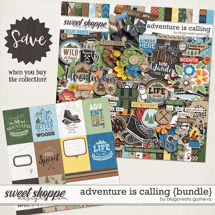Adventure is calling {bundle} by Blagovesta Gosheva