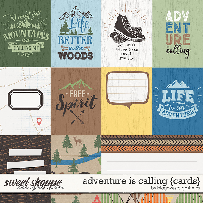 Adventure is calling {cards} by Blagovesta Gosheva