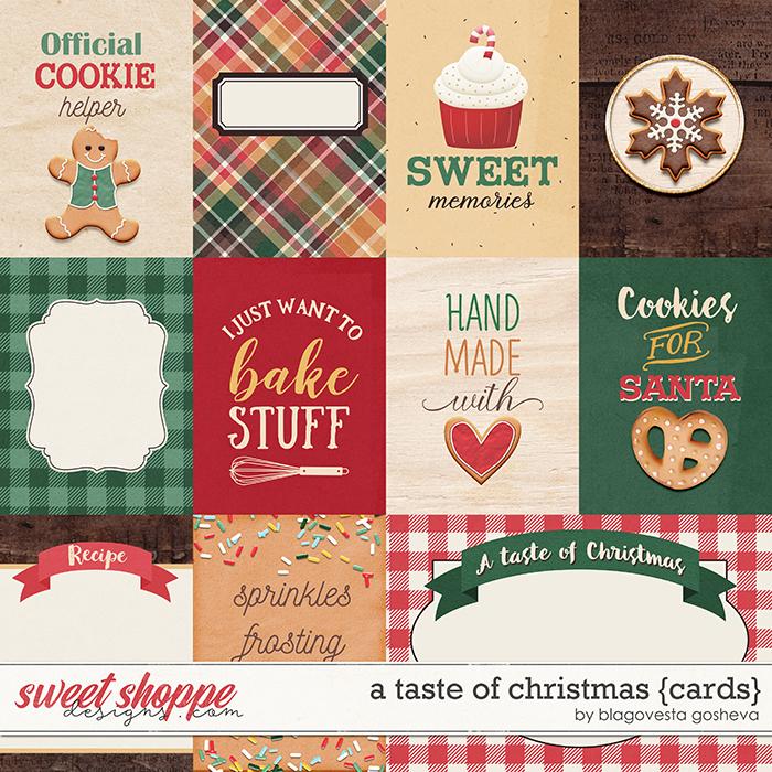 A taste of Christmas {cards} by Blagovesta Gosheva