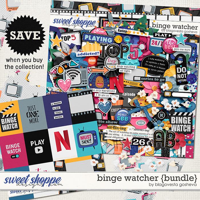 Binge Watcher {bundle} by Blagovesta Gosheva