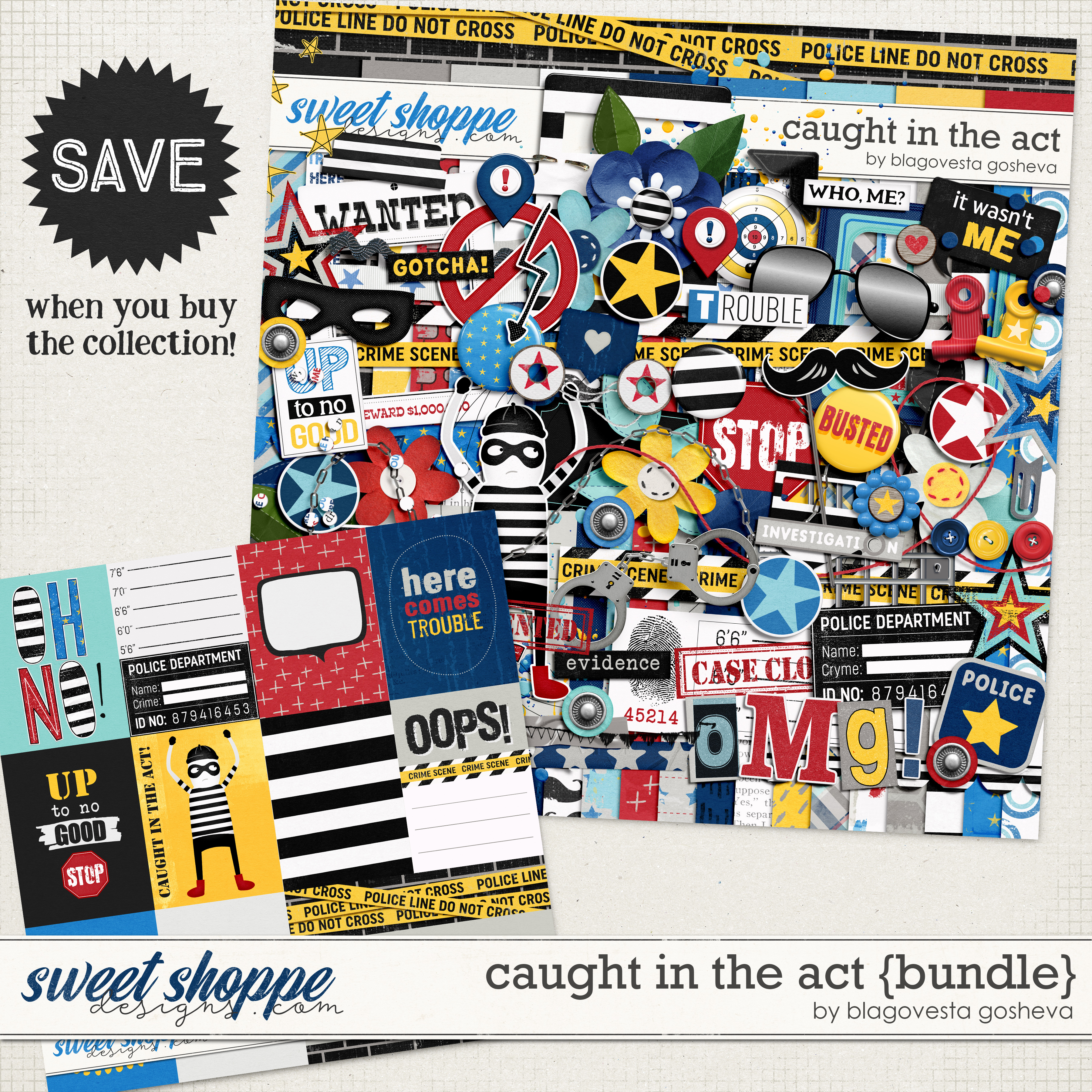 Caught in the act {bundle} by Blagovesta Gosheva