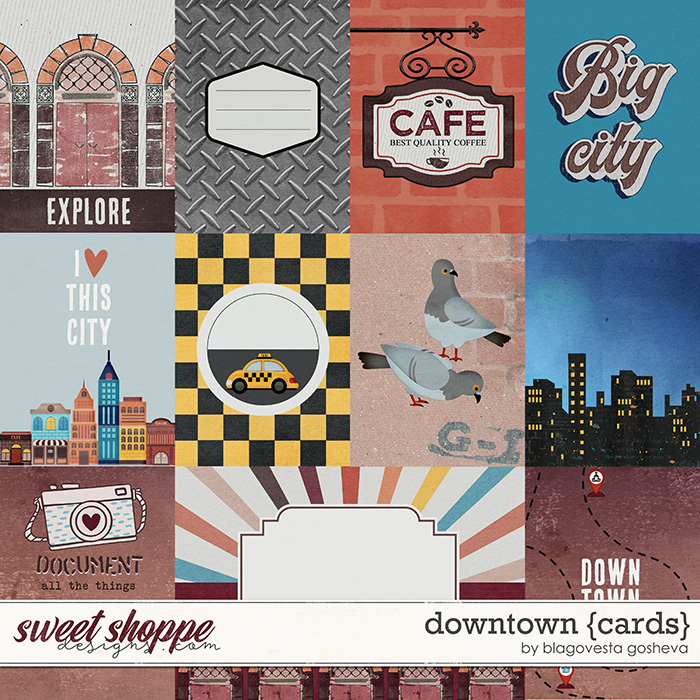 Downtown {cards} by Blagovesta Gosheva