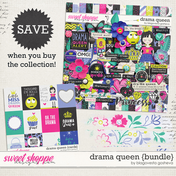 Drama Queen {bundle} by Blagovesta Gosheva