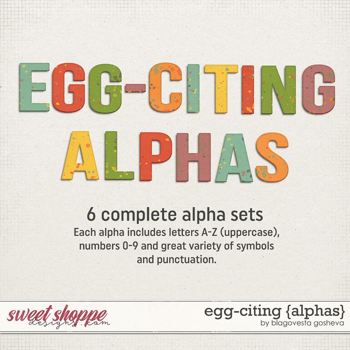 Egg-citing {Alphas} by Blagovesta Gosheva