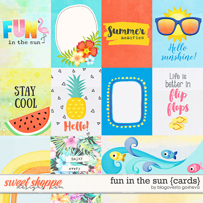 Fun in the Sun {cards} by Blagovesta Gosheva