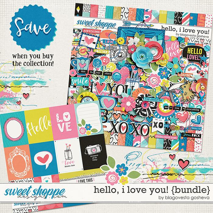 Hello, I Love You! {bundle} by Blagovesta Gosheva