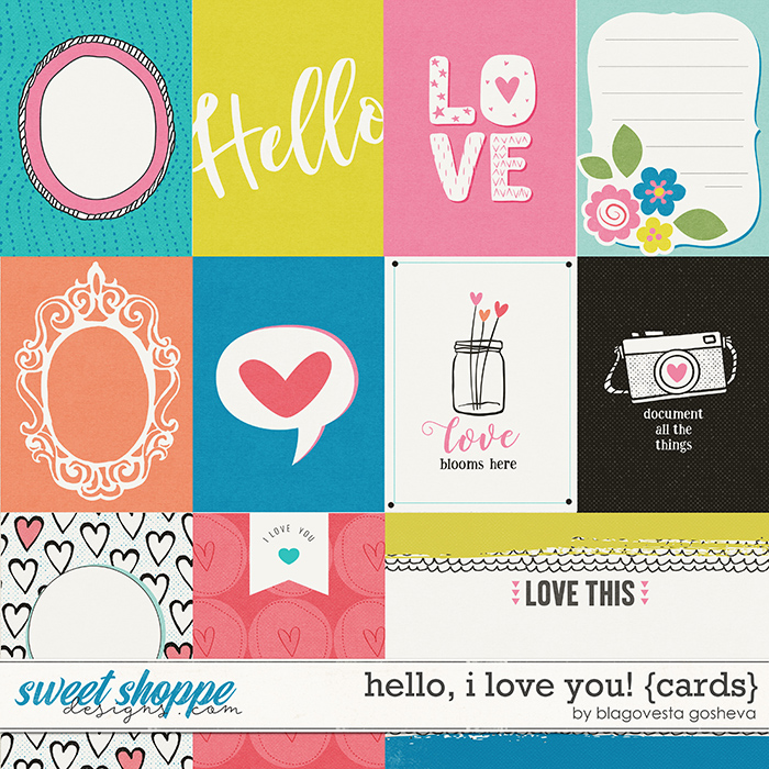 Hello, I Love You! {cards} by Blagovesta Gosheva