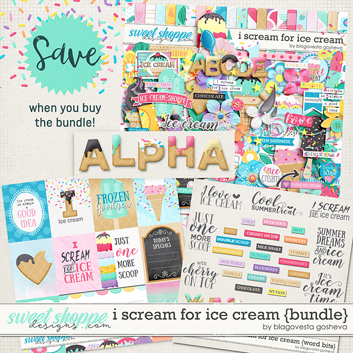 I scream for ice cream {bundle} by Blagovesta Gosheva