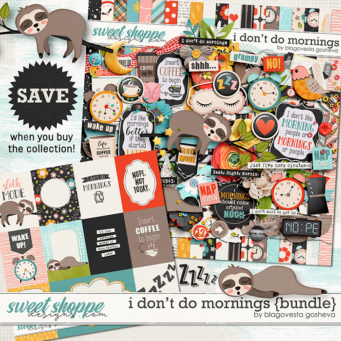 I Don't Do Mornings {bundle} by Blagovesta Gosheva