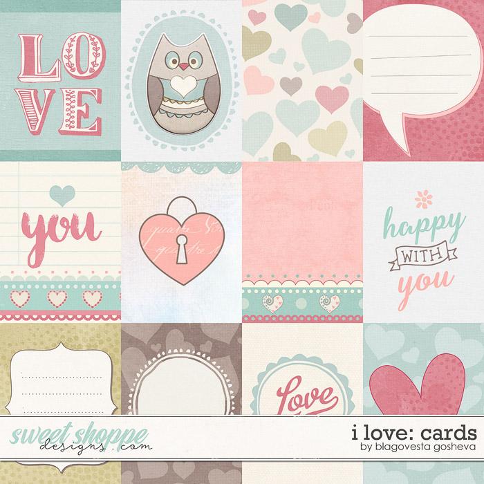 I love {cards} by Blagovesta Gosheva