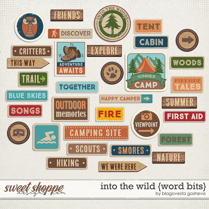 Into the wild {word bits} by Blagovesta Gosheva