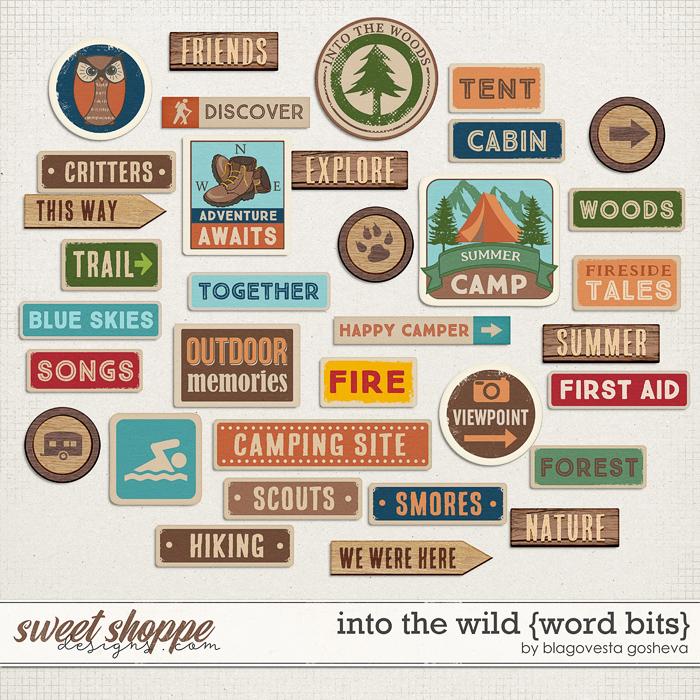 Into the wild {word bits} by Blagovesta Gosheva