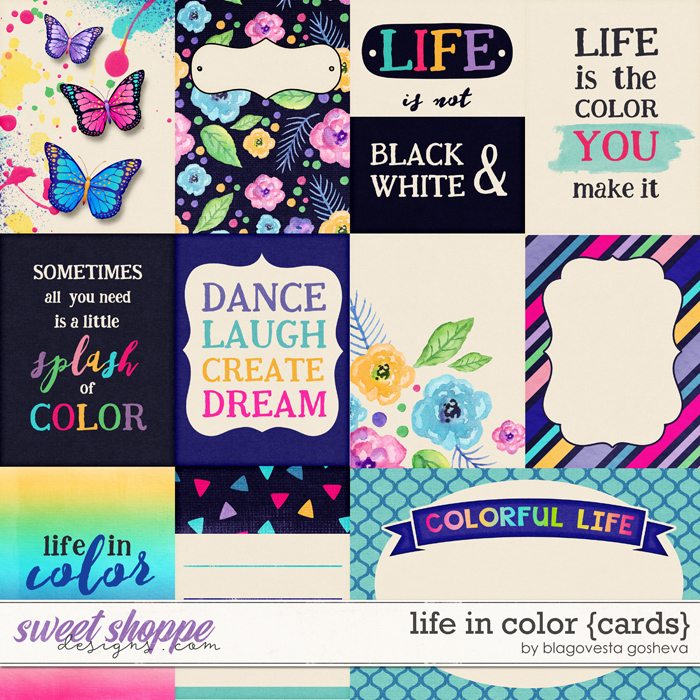 Life in Color {cards} by Blagovesta Gosheva
