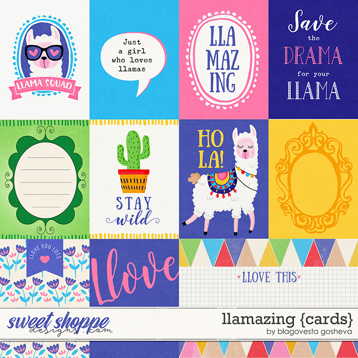 Llamazing {cards} by Blagovesta Gosheva