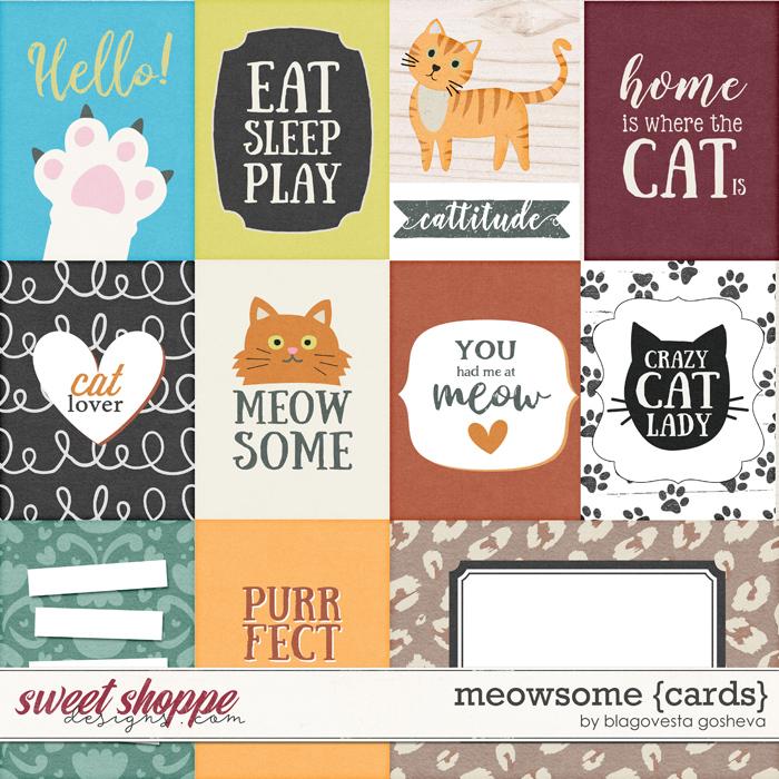 Meowsome {cards} by Blagovesta Gosheva