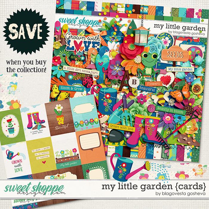 My little garden {bundle} by Blagovesta Gosheva