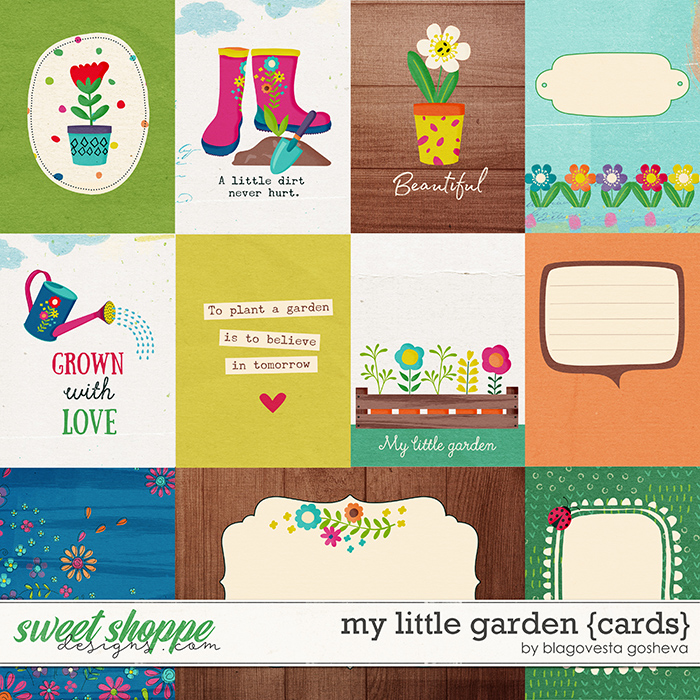 My little garden {cards} by Blagovesta Gosheva