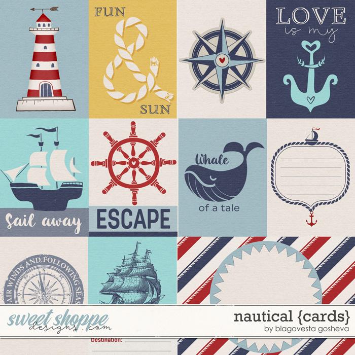 Nautical {Cards} by Blagovesta Gosheva