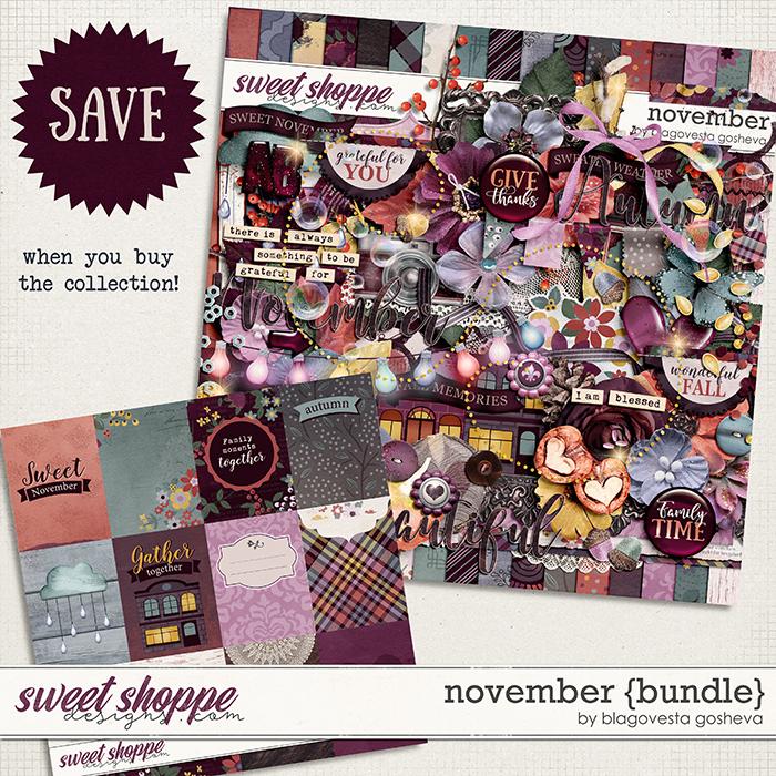 November {bundle} by Blagovesta Gosheva