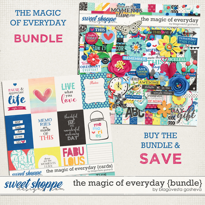 The magic of everyday {bundle} by Blagovesta Gosheva